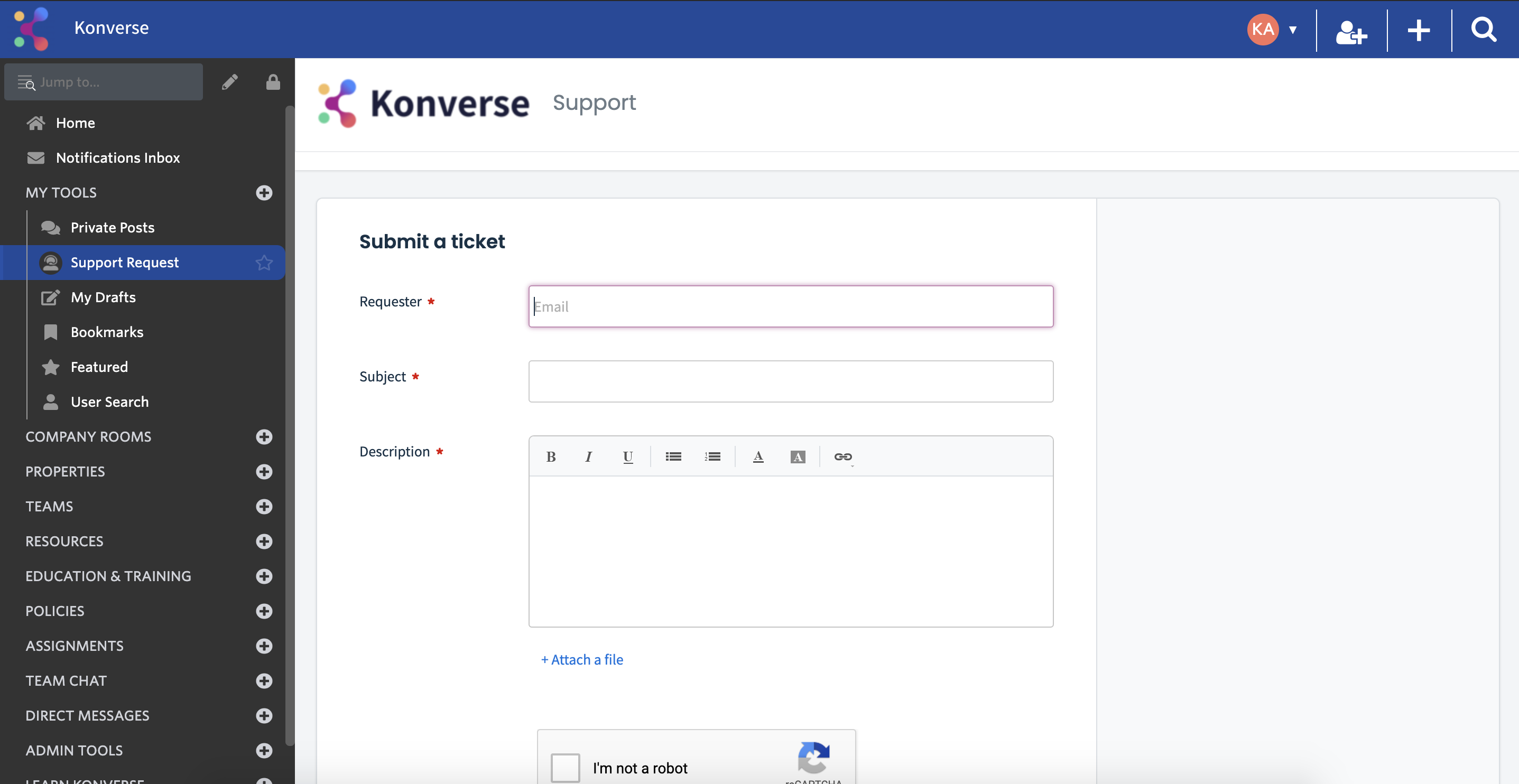 How to Access Support _ Konverse