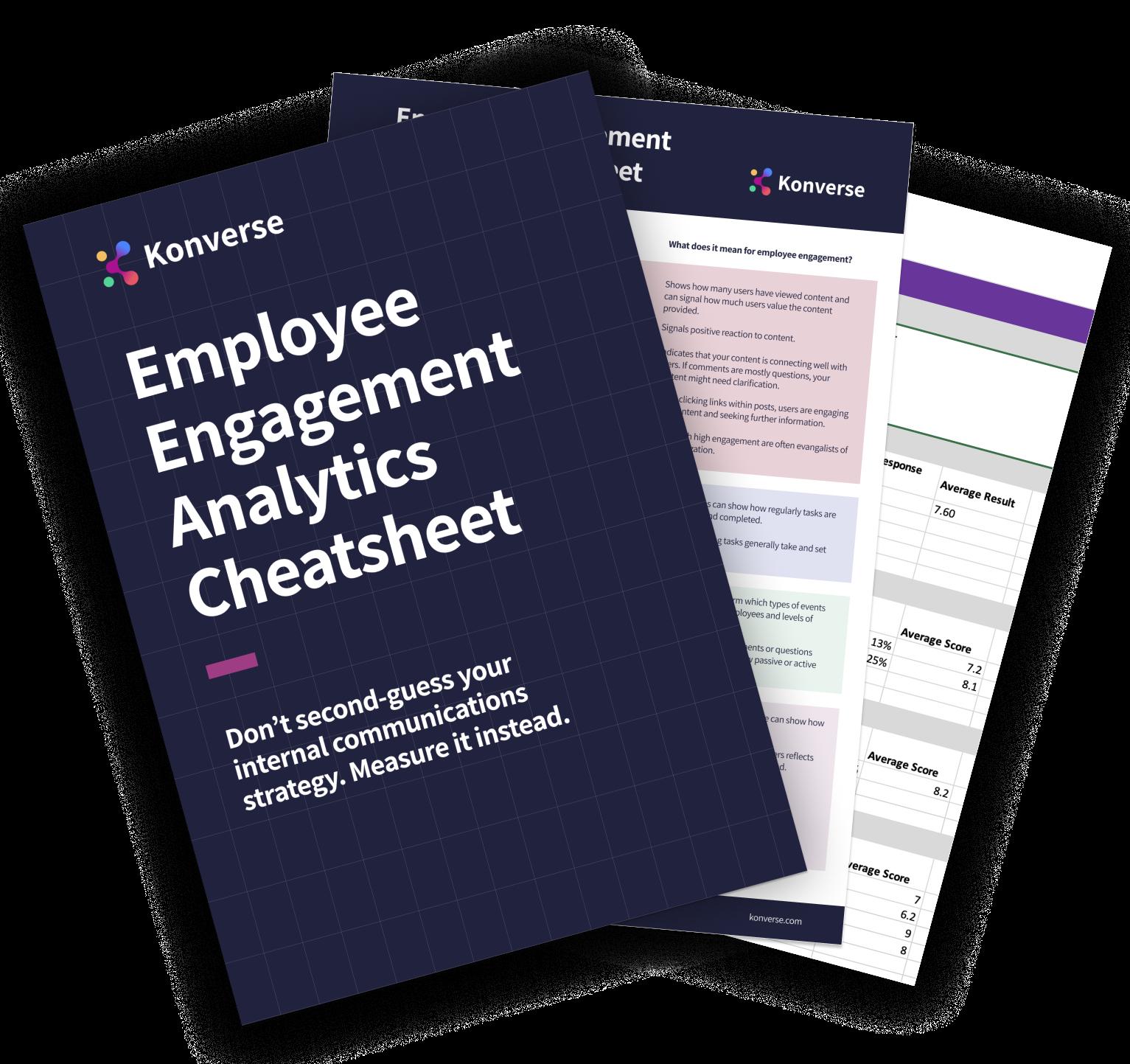 Employee Engagement analytics cheatsheet_Konverse